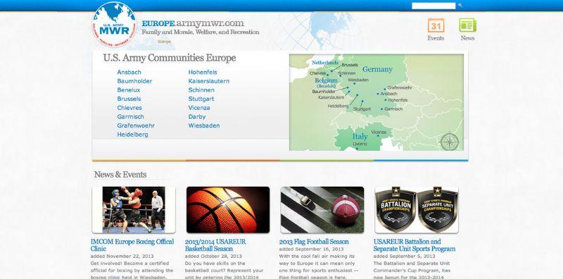 europe mwr portal