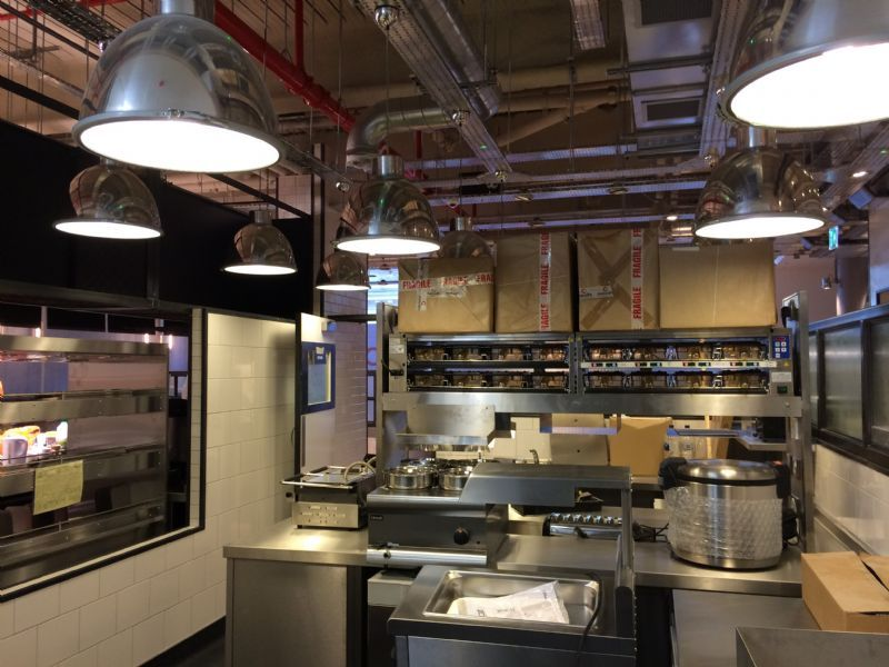28 kitchen commercial kitchen lighting design small