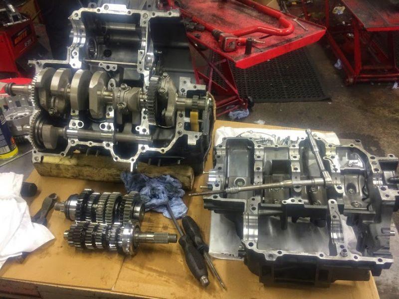 Motorcycle Engine Rebuild London