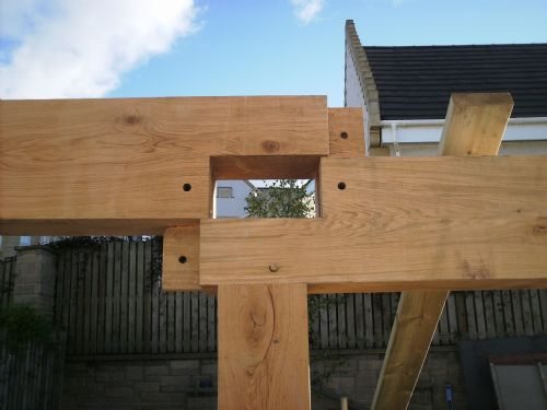 Alba Green Oak Frames Timber Frame Contractor In