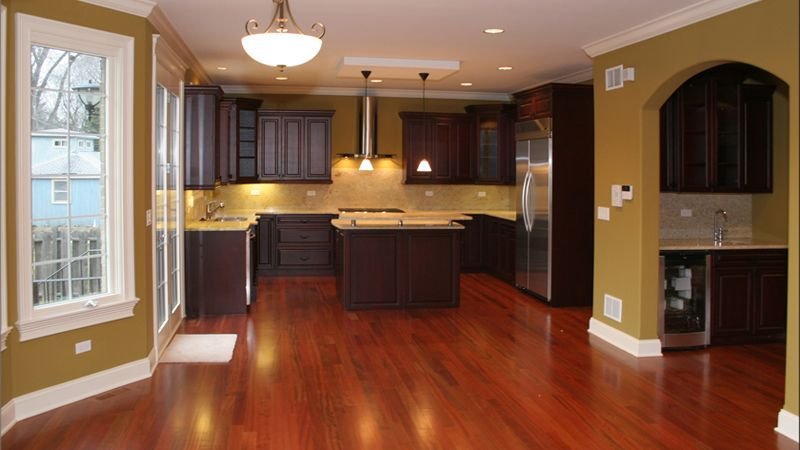 Kitchen Paint Colors With Dark Wood Cabinets - Sarkem.net