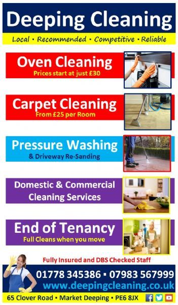 Deeping Cleaning Property Cleaner In Market Deeping