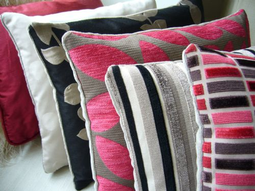 designer cushions and throws soft furnishings supplier