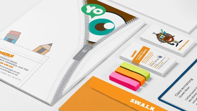 Big beans graphic designer in carlisle uk for Graphic design agency