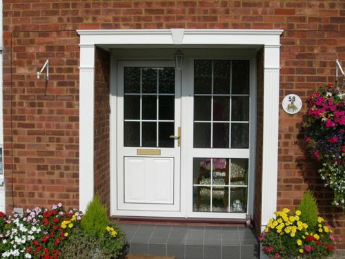 UPVC Georgian Door Surround Kit - Shutter Companies Brandon