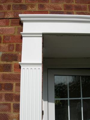 UPVC Georgian Door Surround Kit-fine detail - Shutter Companies Brandon