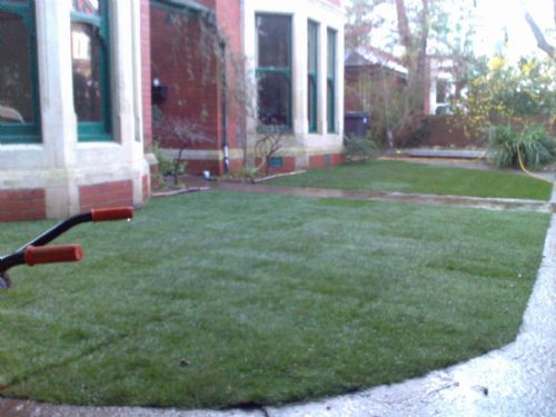 Turfing compete. - Home and Garden Maintenance Companies Cardiff