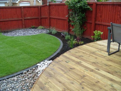 Garden Ideas Small Landscape Gardens Pictures Gallery: Hopton Landscaping And Logs