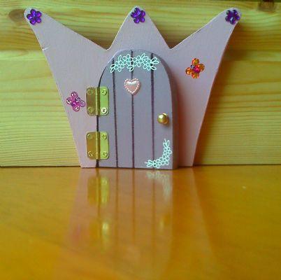 Enchanted doorways gift service in telford uk for Princess fairy door