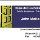 - Resolute Business Services