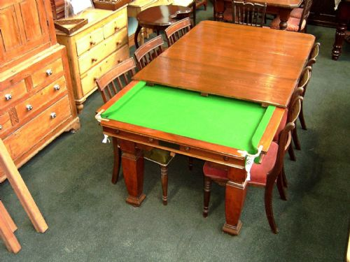 We Specialise In Antique Snooker Tables