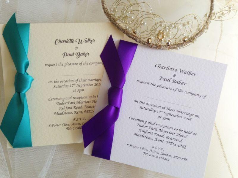 Invitation House Ltd - Wedding Invitation Supplier in Edingale ...