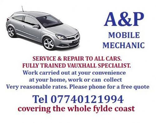A And P Autos Blackpool Ltd Blackpool 15 Reviews