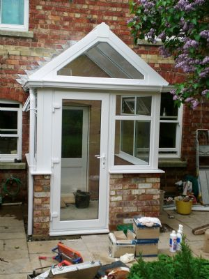 Windowoman double glazing company in kettering uk for Porches login