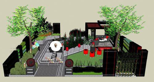 With A Garden Design ...