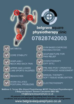 Belgrave Square Physiotherapy Clinic, Darwen