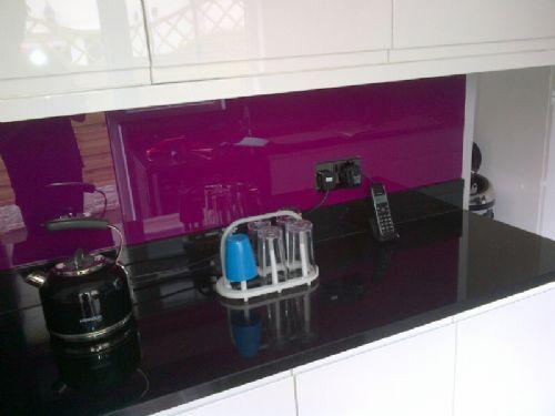 Kitchen Backsplash Uk glass kitchen splashbacks uk - glass splashbacks and worktops