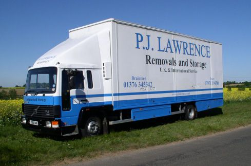 P J Lawrence Removals Storage Removal Company In