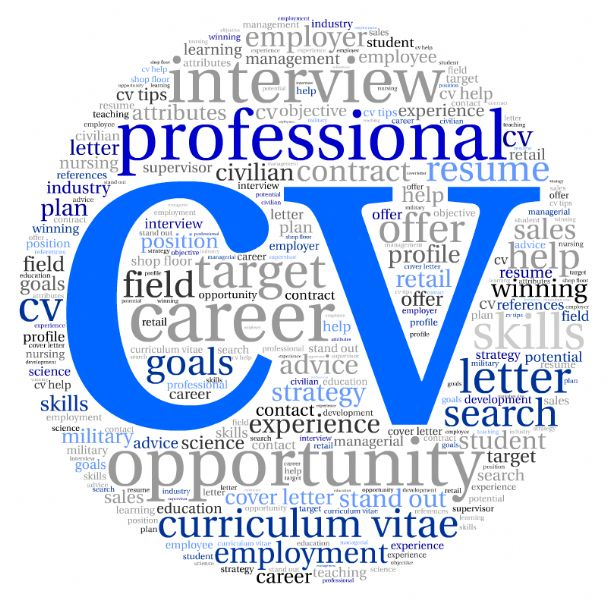 cv writing service preston