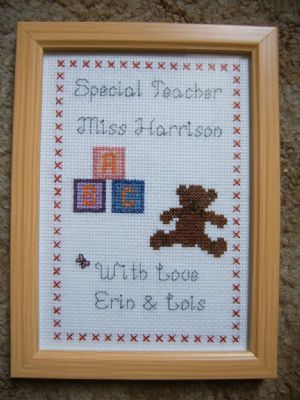 Jo S Cross Stitch Designs Personalised Gift Shop In