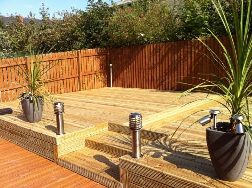 Home and garden design decking installer in rotherham uk for Garden decking ideas uk