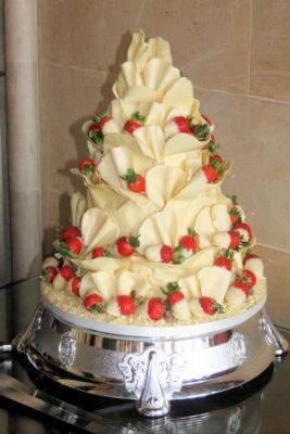 Rainbow Sugarcraft Wedding Cake Maker In Peebles Uk