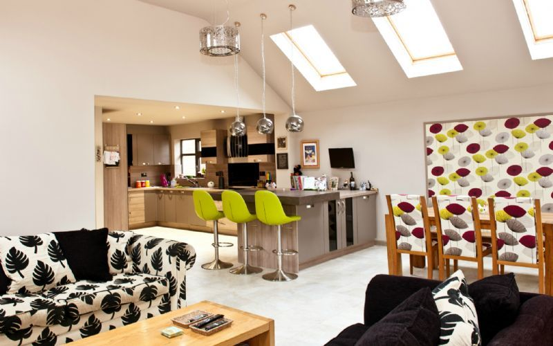 Yasmin chopin interior design interior designer in for Garden room extension interior