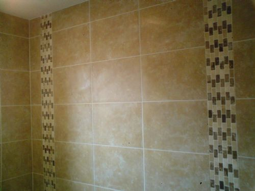 Bathroom Tiles Vertical Border beautiful bathroom tiles vertical in this look subtly edgier and