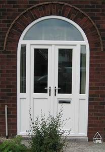 Value doors door manufacturer in chelmsford uk cm2 6nd for Arched upvc french doors