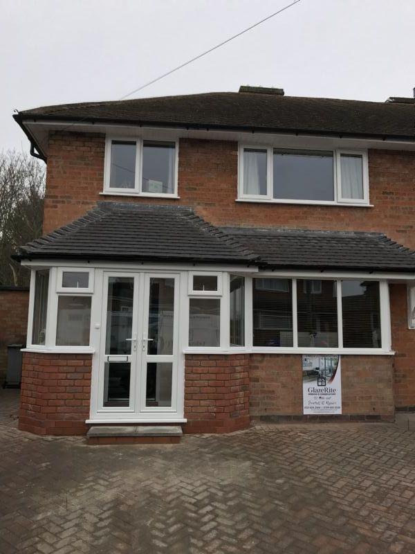 Glaze rite double glazing repairs company in birmingham uk for Double glazing companies