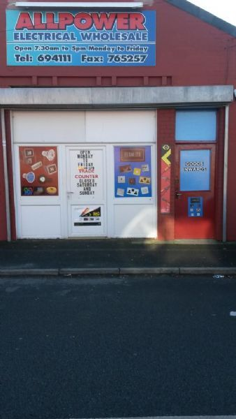 Allpower Electrical Blackpool Electrical Wholesaler