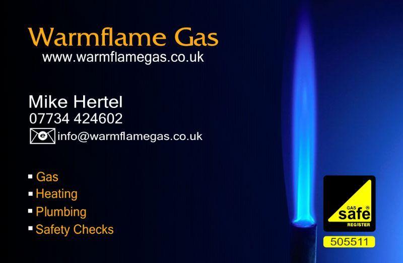 Warmflame Gas Plumber in Hazel Grove Stockport UK