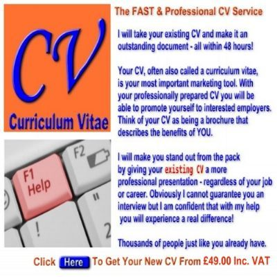 Cv writing service cheshire