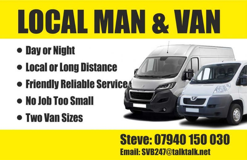 Man With A Van >> The Man With The Van Lytham St Annes Man And Van Hire Company