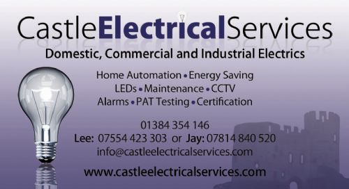 Castle Electrical Services Dudley Logo