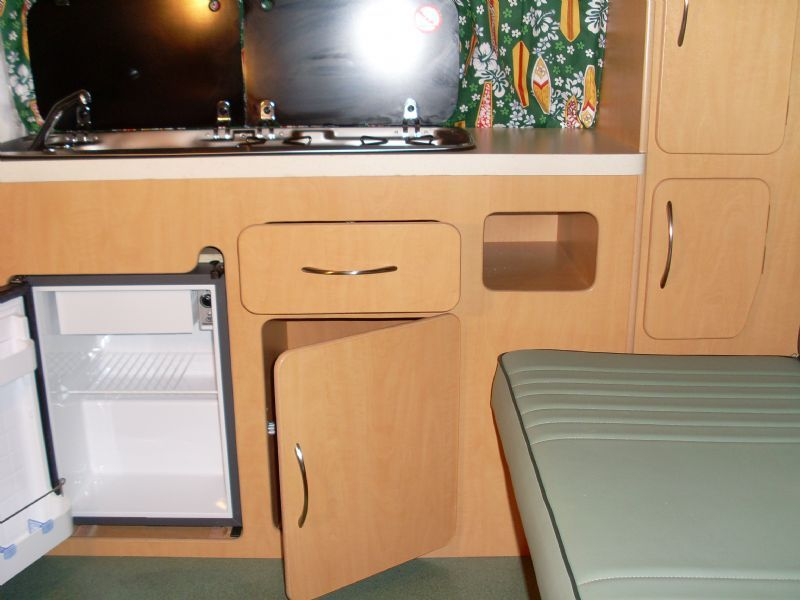 Sjs vw camper interiors camper van manufacturer in for Vw t4 interior designs