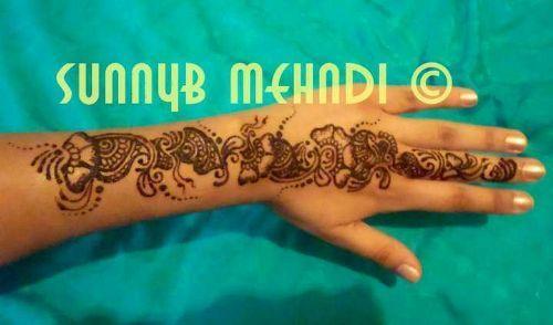 Mehndi Artist : Mehndi artist sunny smera and nina henna body art supplier in