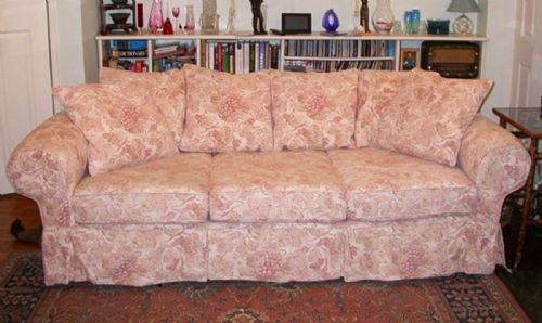 Sofa Refilling Belfast & ... Foodstool Reupholstered Corner Suite