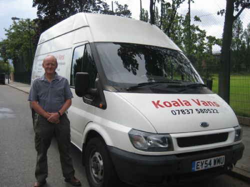 koala vans london 62 reviews man and van hire company. Black Bedroom Furniture Sets. Home Design Ideas