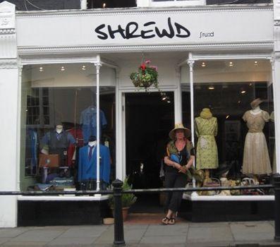 shrewd vintage clothing shop in dorking uk