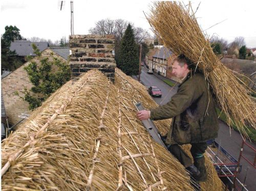 Andrew Neeves Master Thatcher Roof Thatcher In Ousden