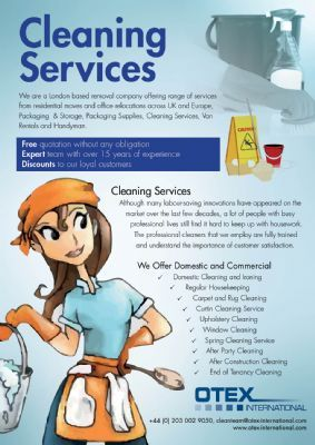 cleaner flyers