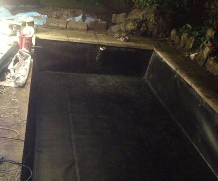Russetts developments ltd milton keynes water tanks for Koi pond liner
