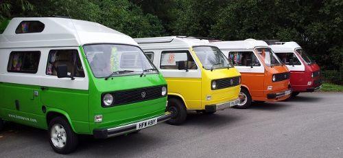 Bonzer VW Camper Van Hire