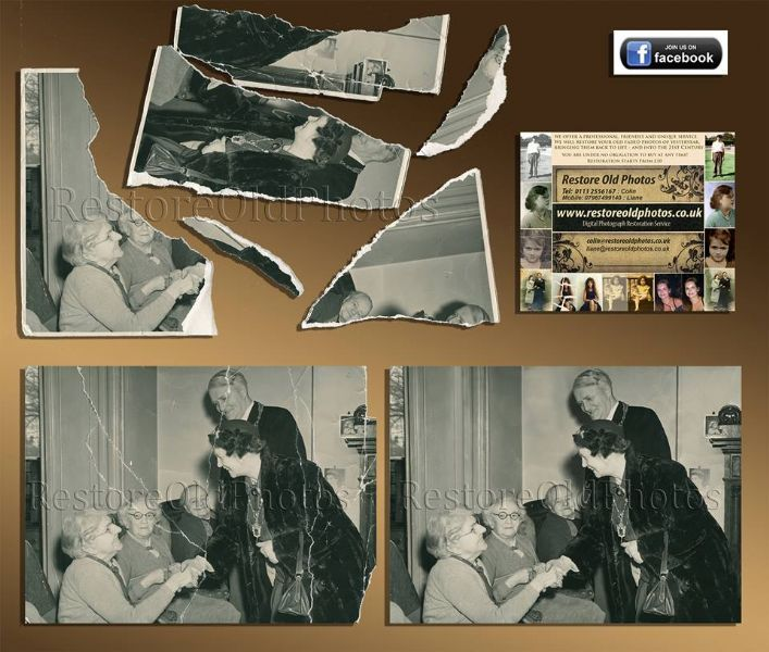 Restore old print photos with free software Popular Science