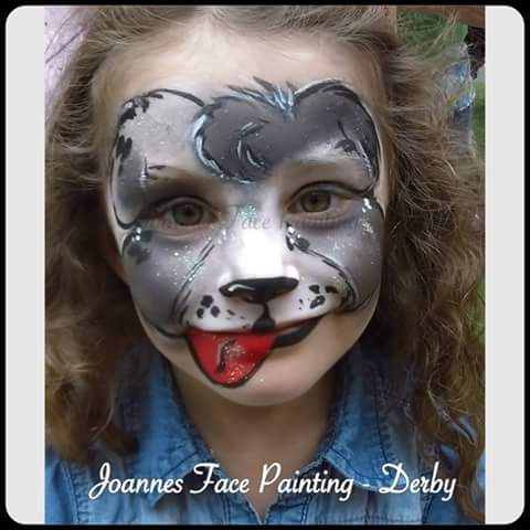 joannes face painting derby face painter in derby uk