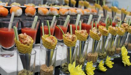Wirral gourmet catering company in bromborough wirral for Canape reception