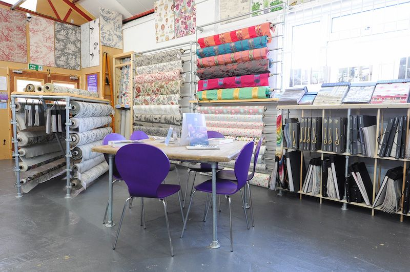 The Millshop Online Fabric Shop In Rothersthorpe Avenue