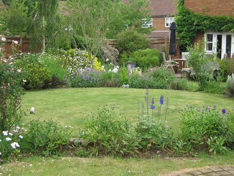 Garden Design Circular Lawns