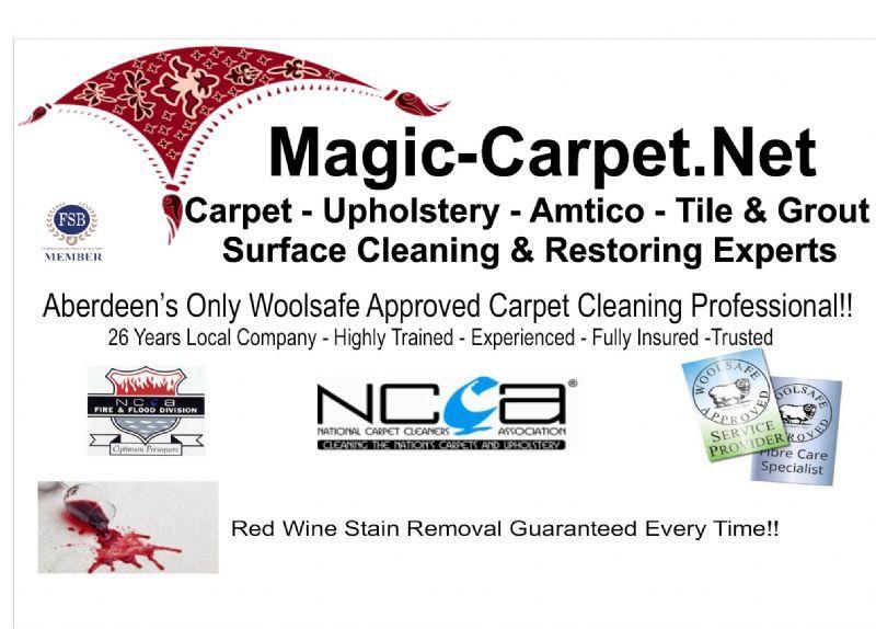 Magic Carpet Aberdeen Carpet Cleaning Company Freeindex